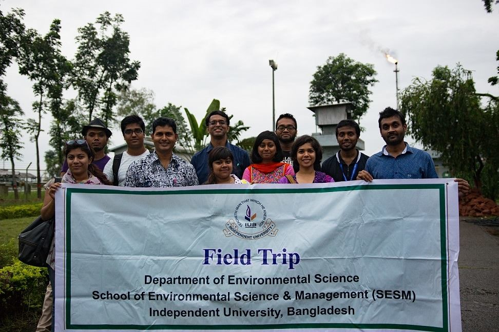 Academic Field Trips to the Sylhet Gas Field